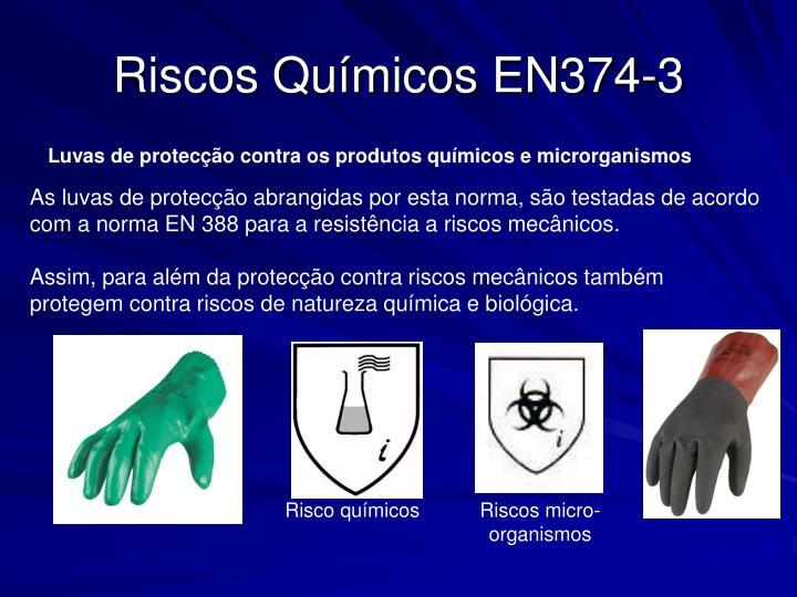 Riscos Químicos EN374-3