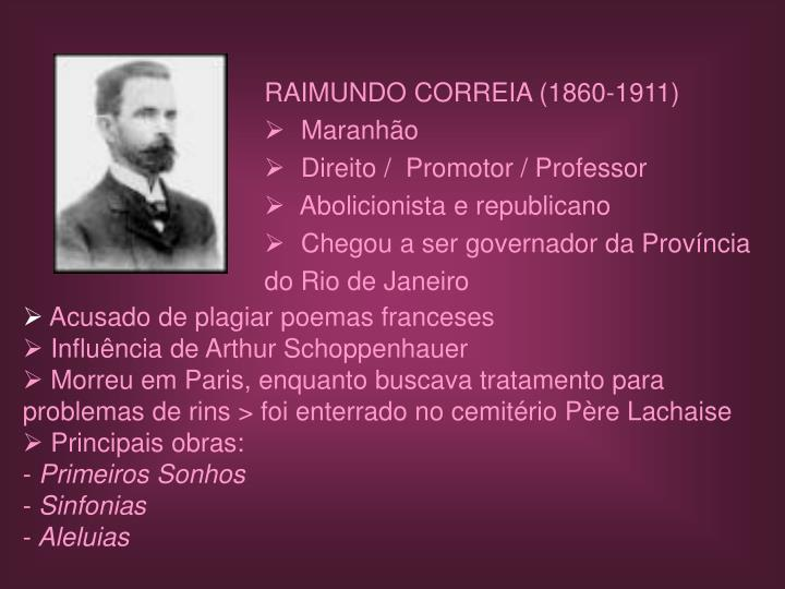 RAIMUNDO CORREIA (1860-1911)