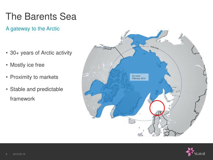 The Barents Sea