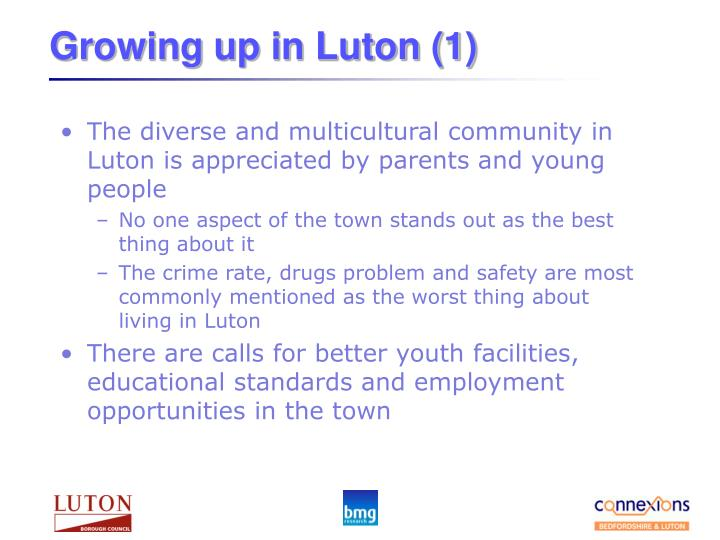 Growing up in Luton (1)