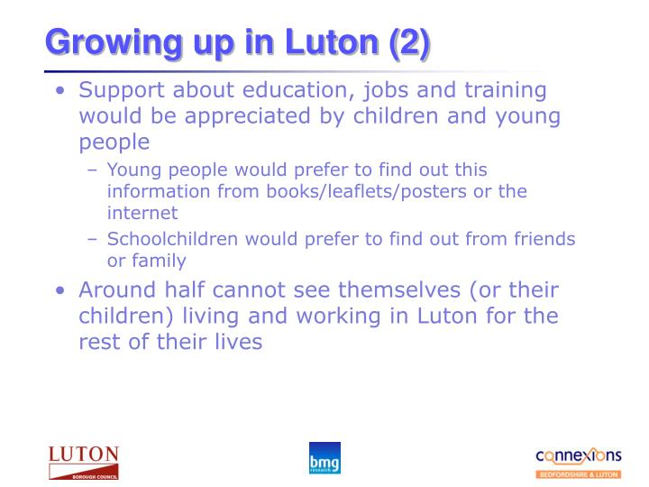 Growing up in Luton (2)