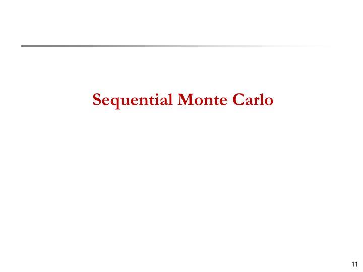 Sequential Monte Carlo