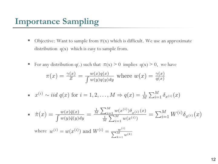 Importance Sampling