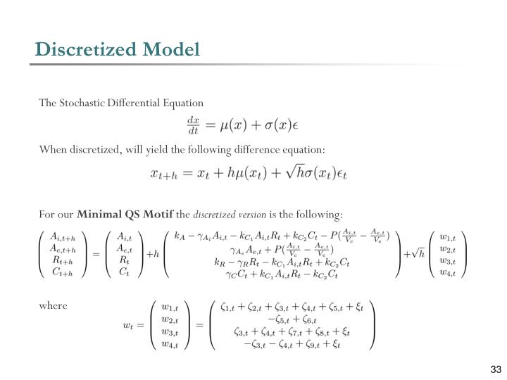 Discretized Model