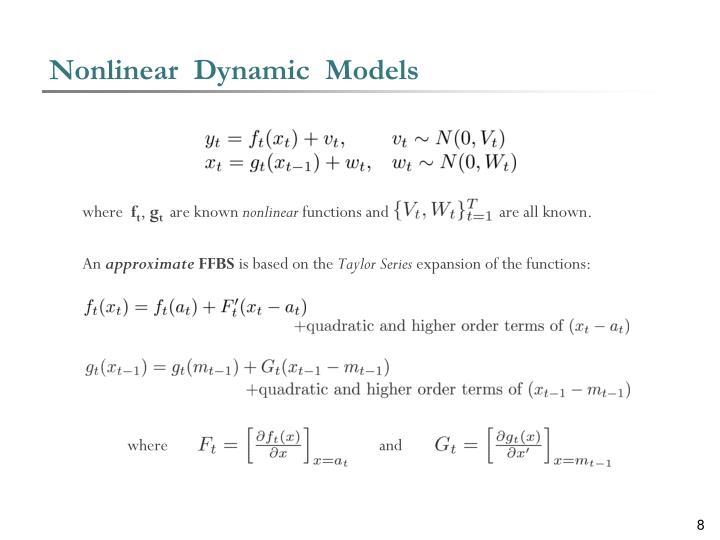 Nonlinear  Dynamic  Models