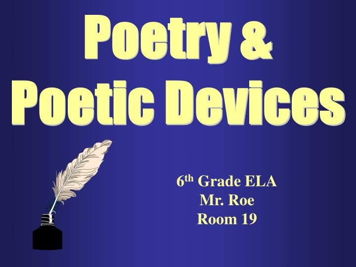 Poetry &