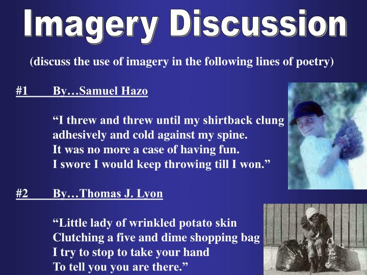 Imagery Discussion