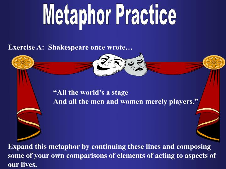 Metaphor Practice