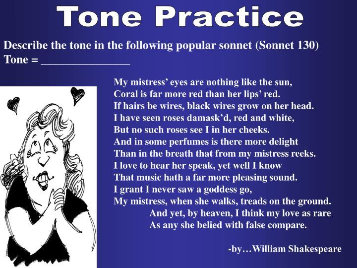 Tone Practice