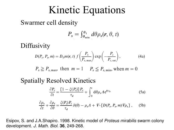 Swarmer cell density