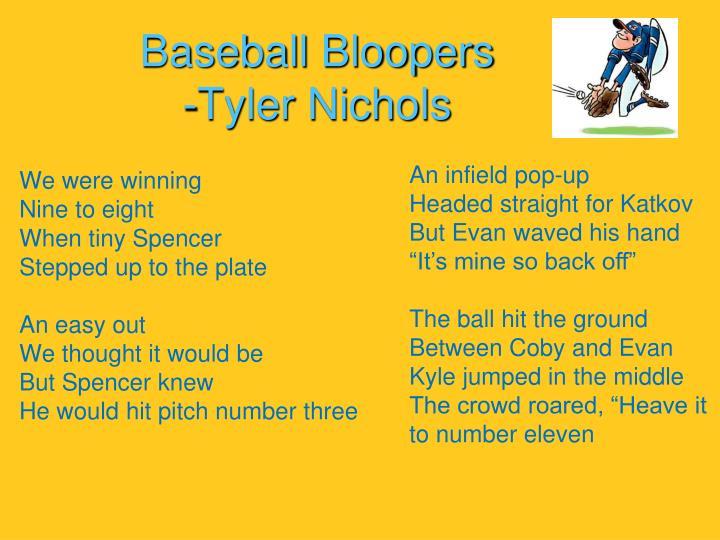 Baseball Bloopers