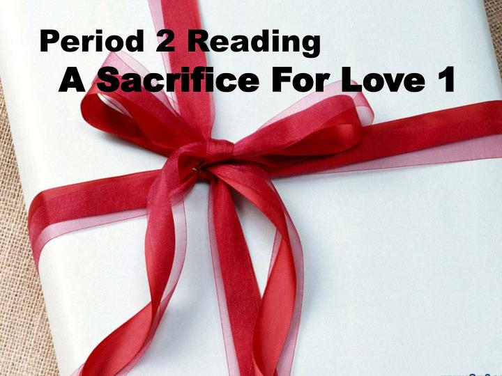 Period 2 Reading