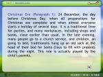 text 1 christmas eve