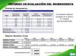 criterios de evaluaci n del inversionista1