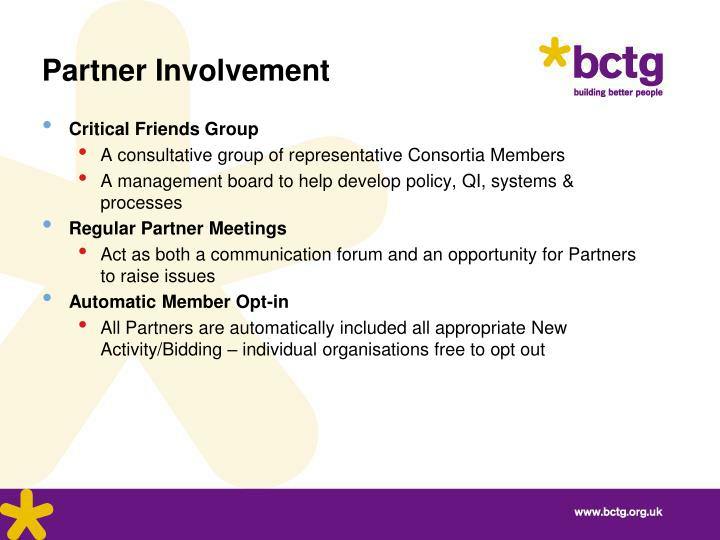 Partner Involvement