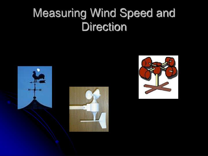 Measuring Wind Speed and Direction