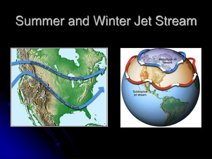 Summer and Winter Jet Stream
