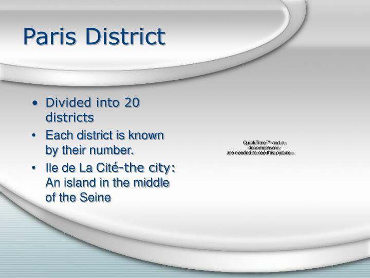 Paris District
