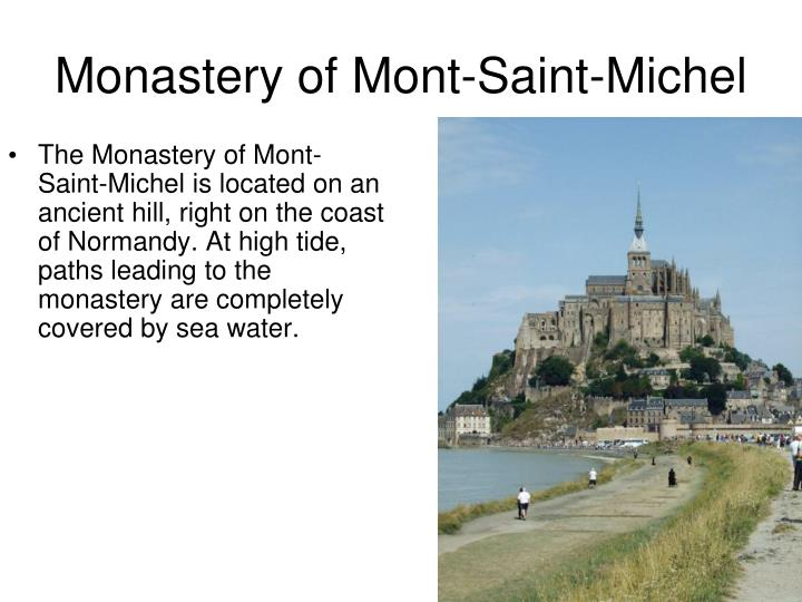 Monastery of Mont-Saint-Michel
