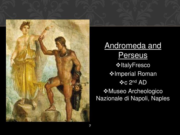 Andromeda and Perseus