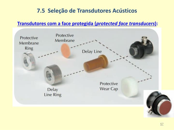 7.5  Seleção de Transdutores Acústicos