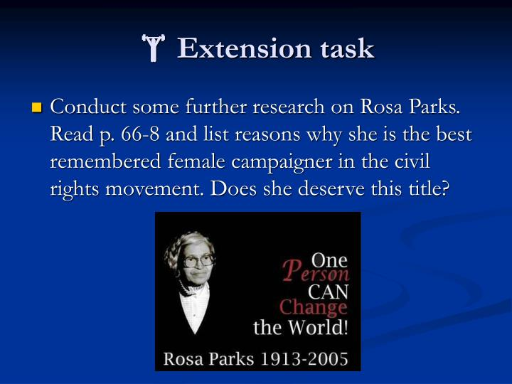  Extension task