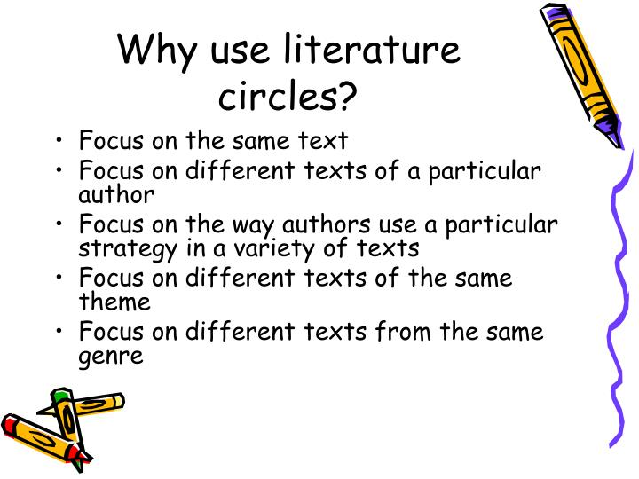 Why use literature circles?