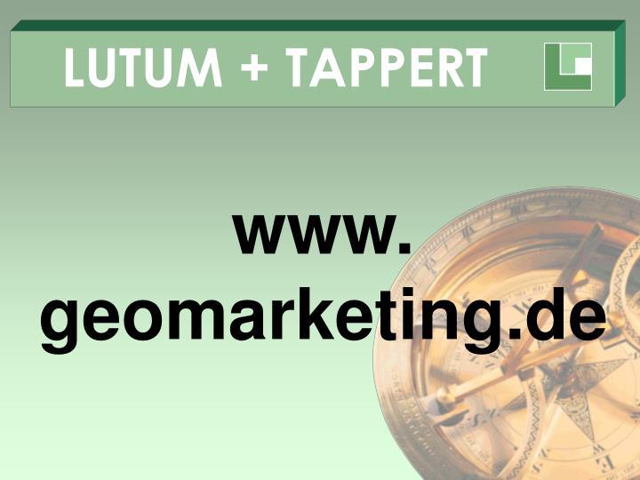 LUTUM + TAPPERT