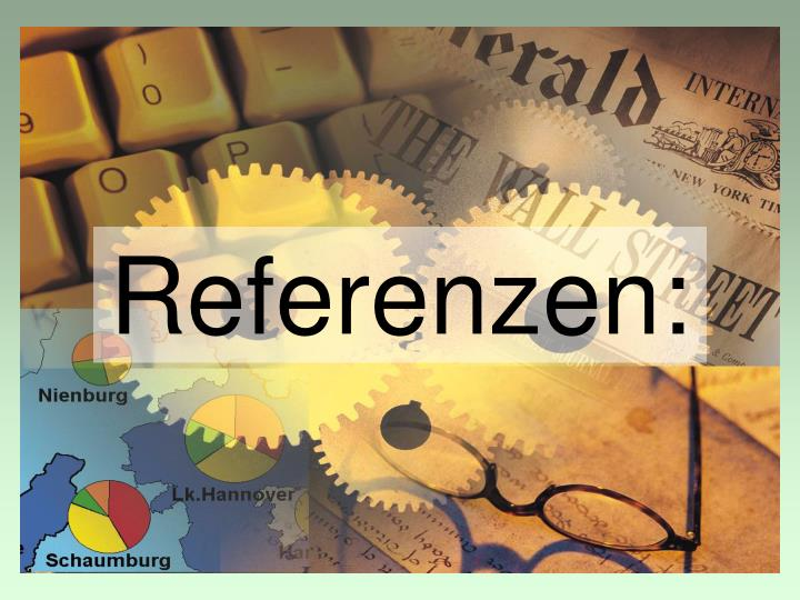 Referenzen: