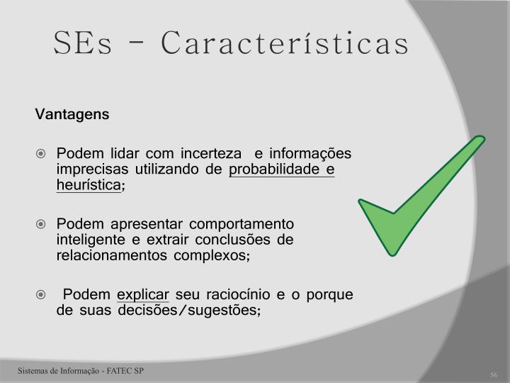 SEs - Características