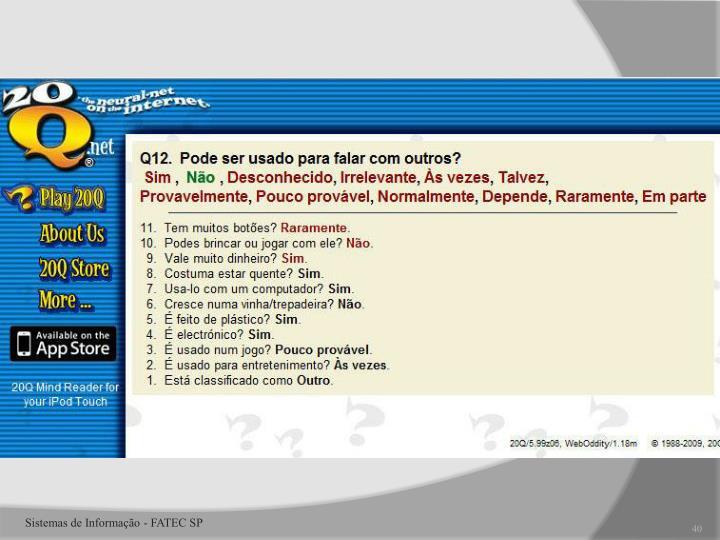 Sistemas de Informação - FATEC SP