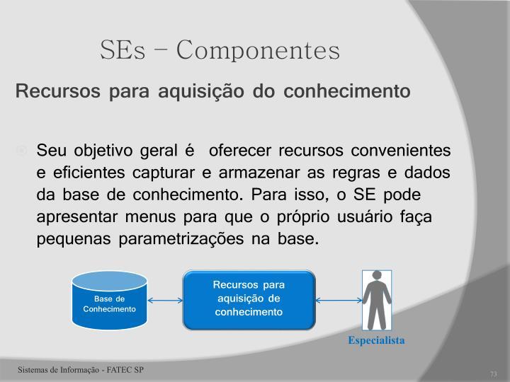 SEs – Componentes