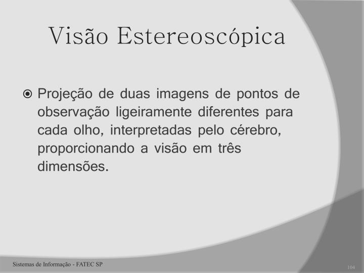 Visão Estereoscópica