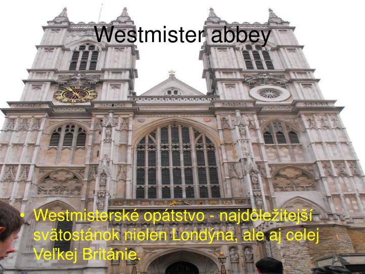 Westmister abbey