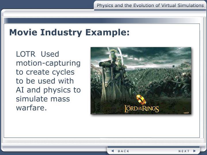 Movie Industry Example: