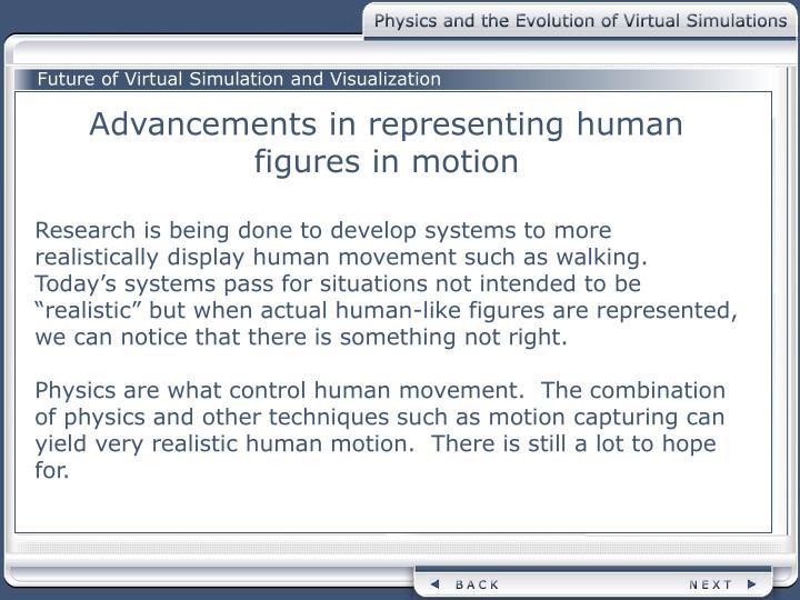 Future of Virtual Simulation and Visualization
