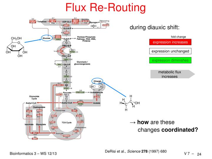 Flux Re-Routing