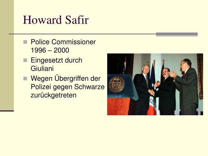 Howard Safir