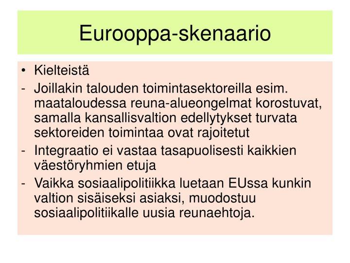 Eurooppa-skenaario