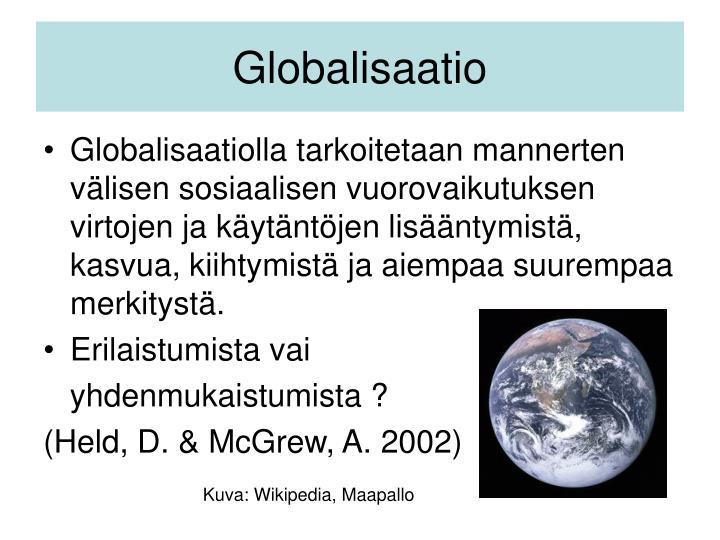 Globalisaatio
