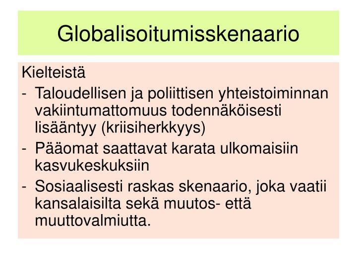 Globalisoitumisskenaario