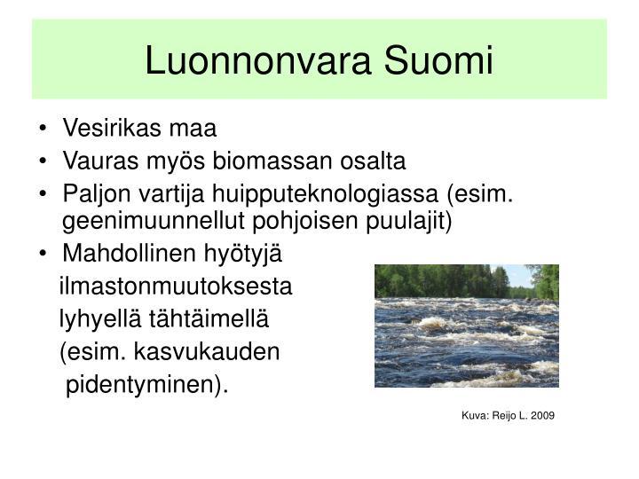 Luonnonvara Suomi