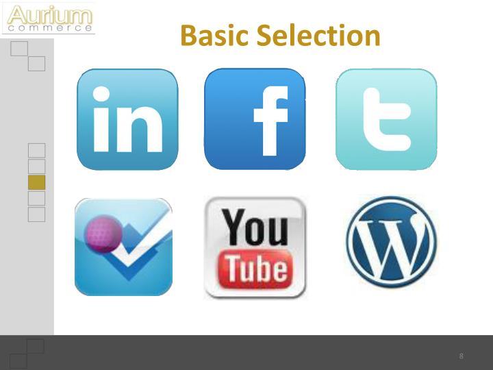 Basic Selection