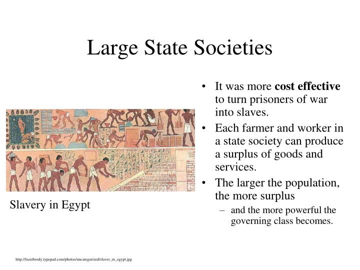 Large State Societies