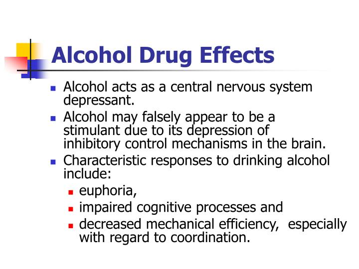 Alcohol Drug Effects