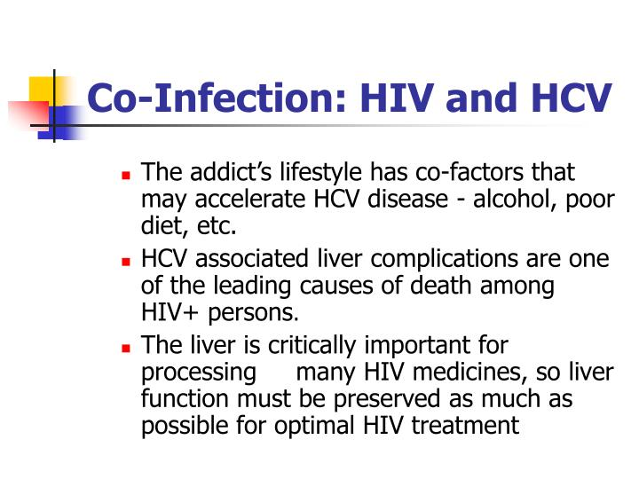Co-Infection: HIV and HCV