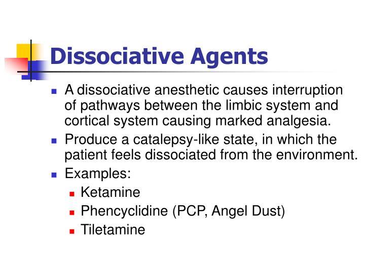 Dissociative Agents