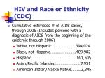hiv and race or ethnicity cdc