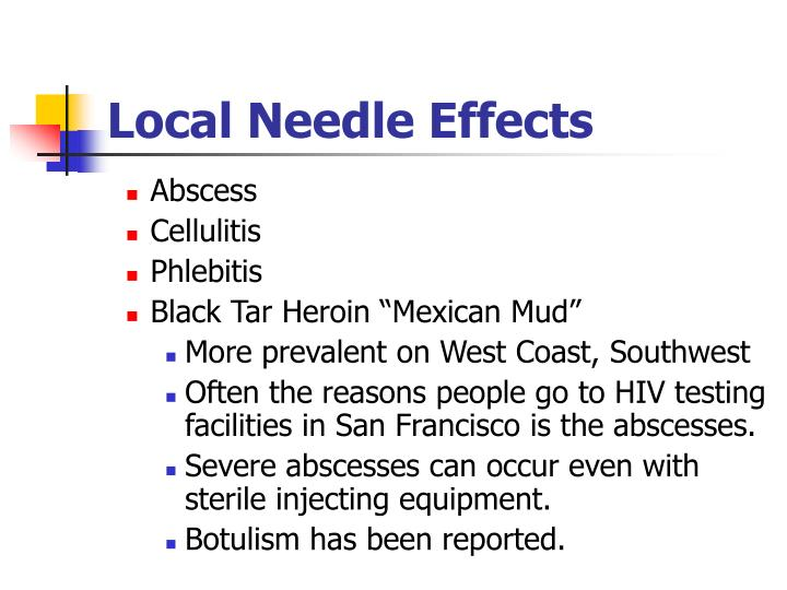 Local Needle Effects