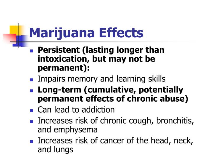 Marijuana Effects